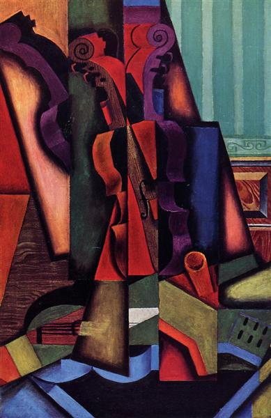 Violin and Guitar, 1913 - Juan Gris
