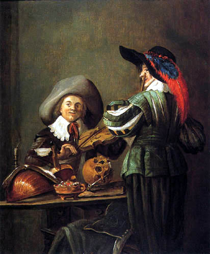 Two musicians, 1629 - Judith Leyster - WikiArt org