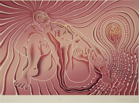 Birth Tear-Tear, 1985 - Judy Chicago