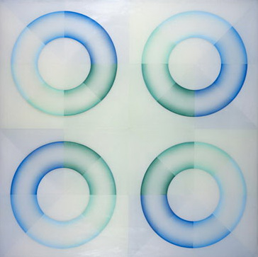 Pasadena Lifesavers Blue Series #2, 1970 - Judy Chicago