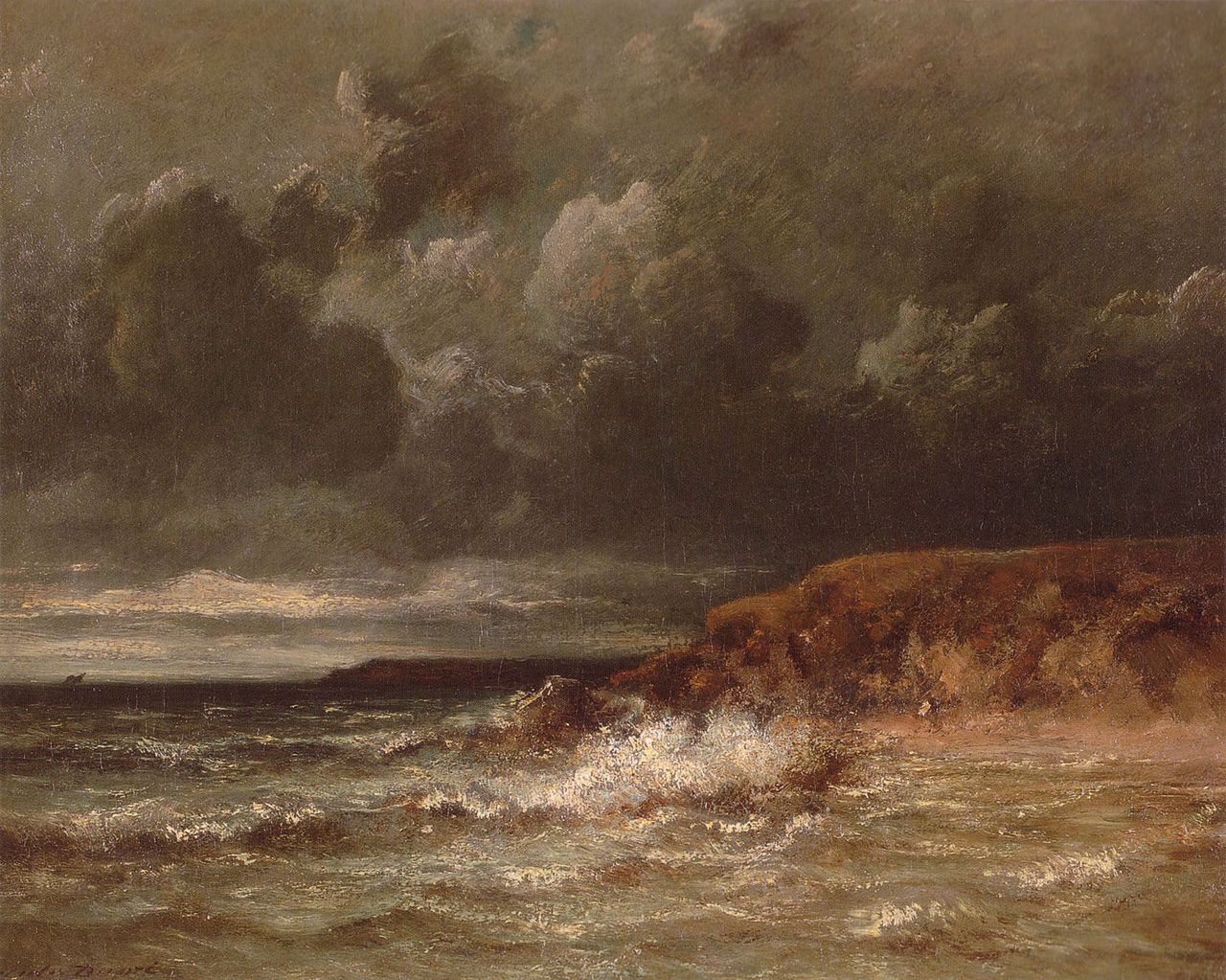 Marine Landscape The Cape And Dunes Of Saint Quentin