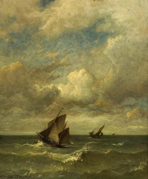 Shipping in a breeze - Jules Dupre