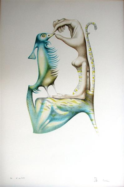 L'alphabet 5 (Gimel) - Jules Perahim