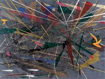 Grey Space - Julie Mehretu