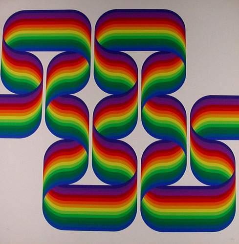 Composition Cinétique, 1970 - Julio Le Parc