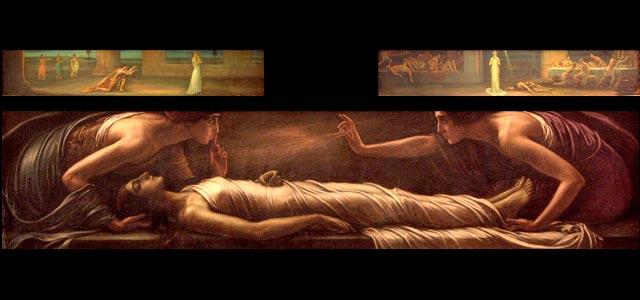 La muerte de Santa Inés, 1920 - Julio Romero de Torres