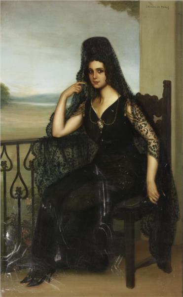 Raquel Meller, 1910 - Хулио Ромеро де Торрес