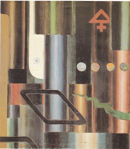 La libra s'infiamma e le piramidi, 1921 - Julius Evola