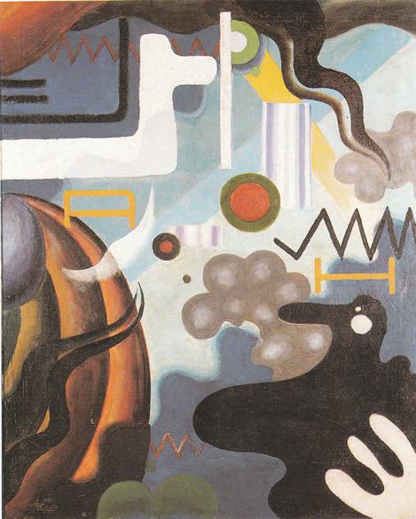 Paesaggio interiore, apertura del diaframma, 1921 - Julius Evola