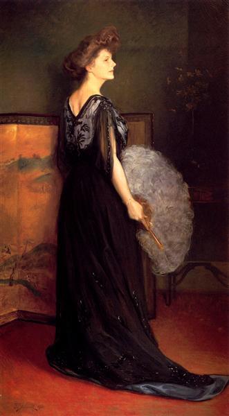 Portrait of Mrs Francis Stanton Blake, 1908 - Julius LeBlanc Stewart