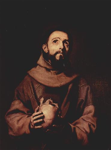 St. Francis of Assisi - Jusepe de Ribera