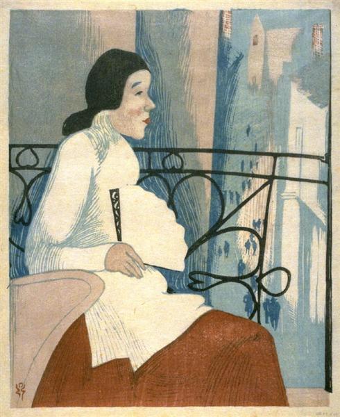 Chinese Lady, 1914 - Kanae Yamamoto