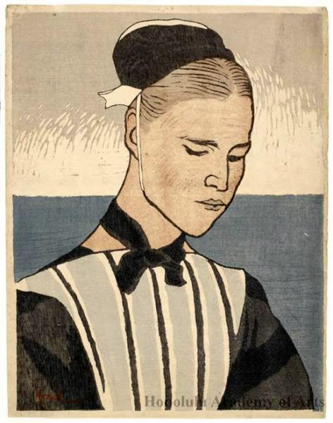 Woman of Brittany - Kanae Yamamoto