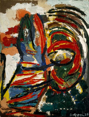 The Crying Crocodile Tries to Catch the Sun, 1956 - Karel Appel