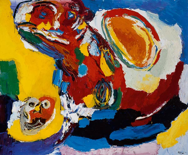 The Whirling Sun, 1966 - Karel Appel