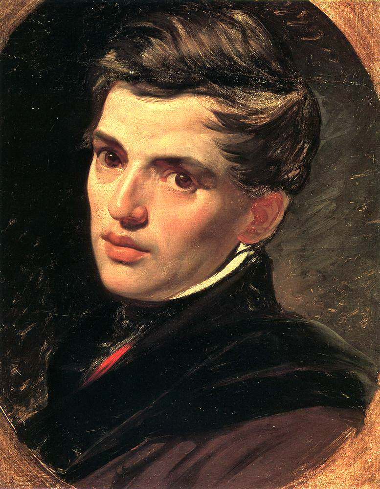 Portrait of Alexander Bruloff, 1823-1827