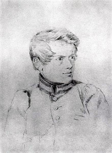 Self-portrait, 1813 - 1816 - Karl Bryullov