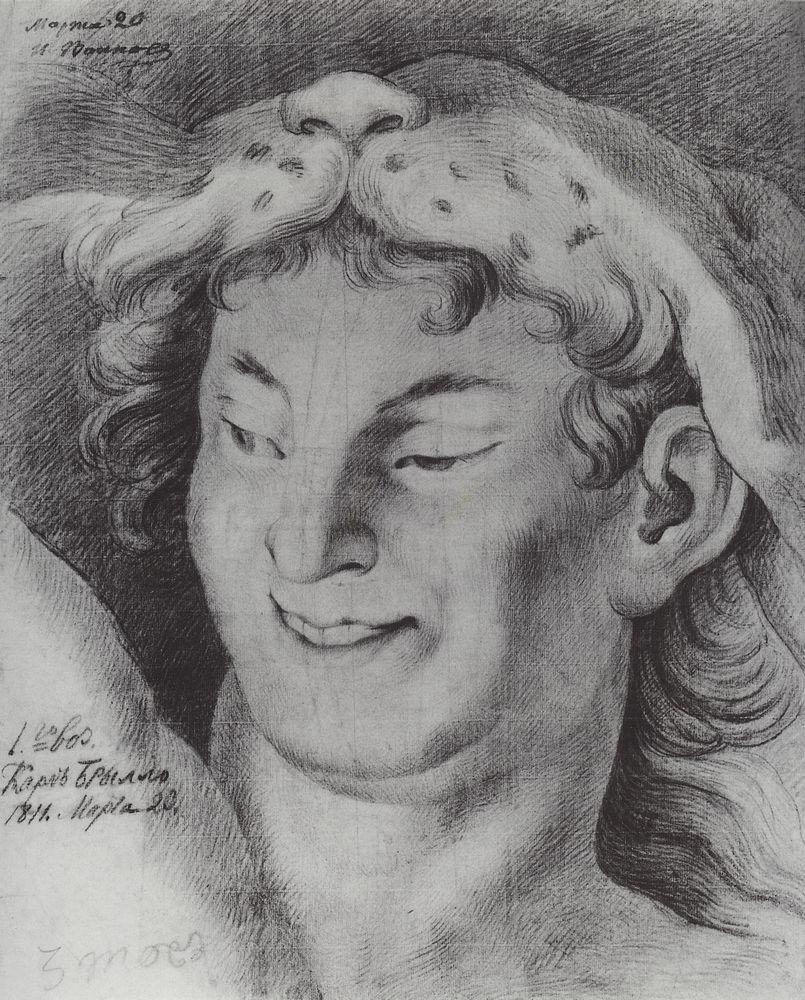 The head of Bacchus, 1811
