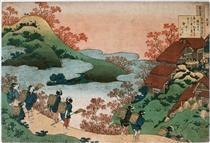 Sarumaru Daiyu - Katsushika Hokusai