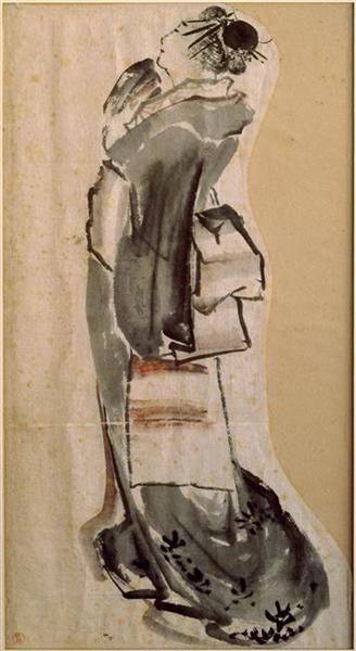 Womanprofile - Katsushika Hokusai