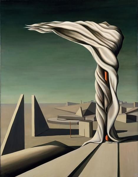 Kay Sage - I Saw Three Cities (1944)
