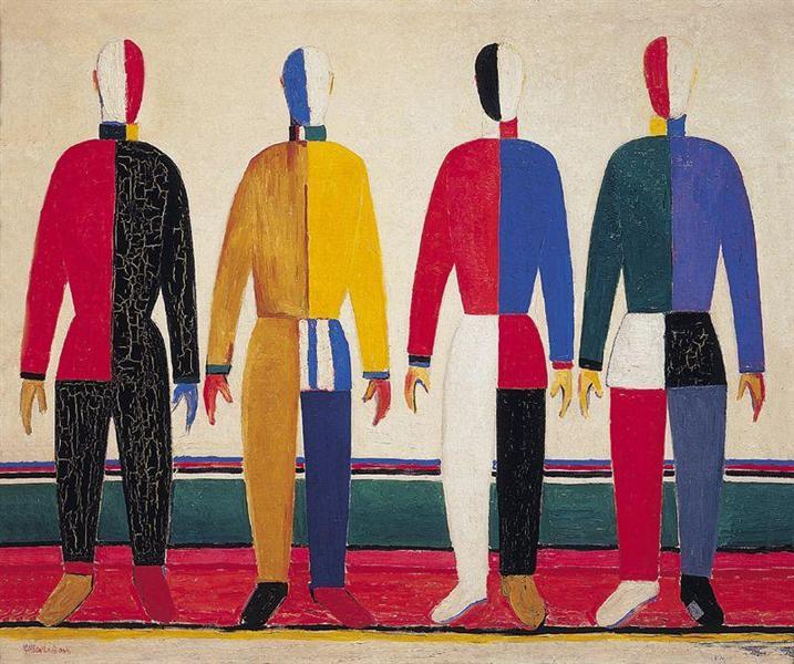 Spotrsmeny, 1931 - Kazimir Malevich