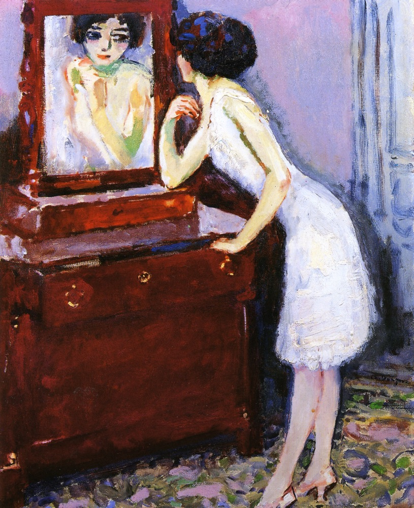 Kees van Dongen - Page 3 Woman-before-a-mirror-1908