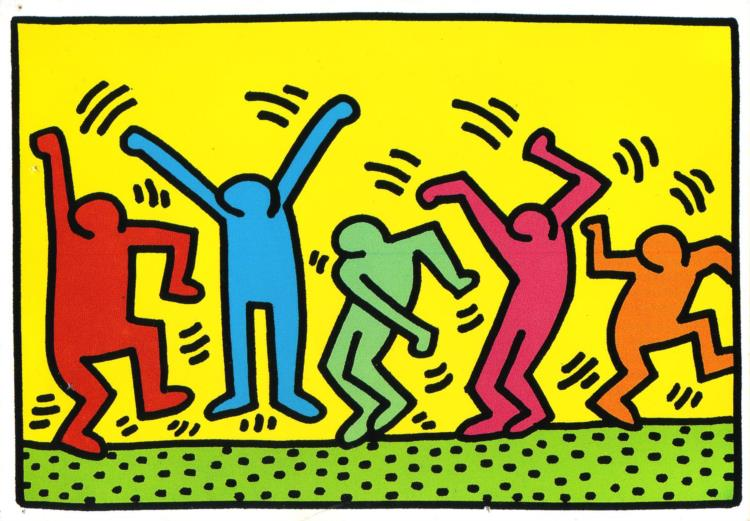 Untitled (Dance), 1987 - Keith Haring