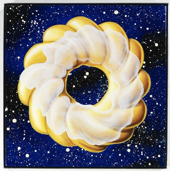 Glazed Cruller in Space, 2011 - Kenny Scharf