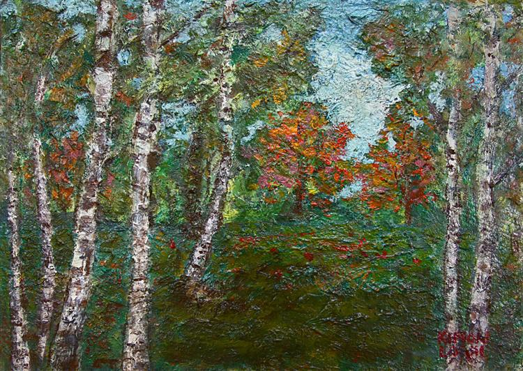 Birch Trees - Kimon Loghi