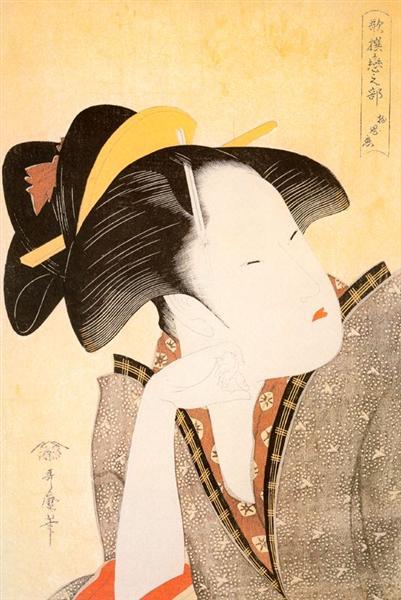 Geisha - Utamaro