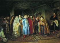 Boyar Wedding - Klavdi Lébedev