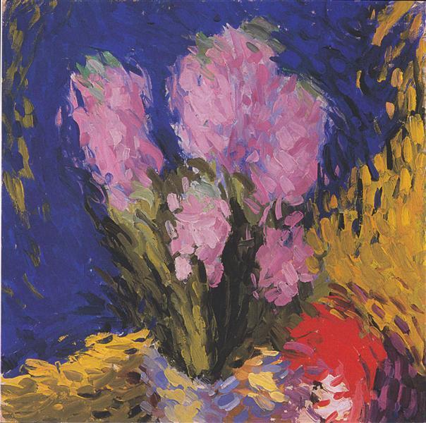 Hyacinths, c.1910 - Koloman Moser