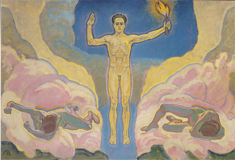 The light, c.1914 - Koloman Moser