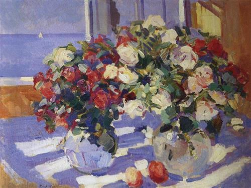 Roses  - Konstantin Korovin
