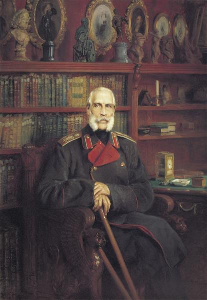 Portrait of Count Sergei Grigoriyevich Stroganov, 1882 - Konstantin Makovsky