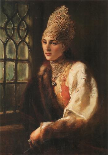The Boyarynia - Konstantin Makovsky