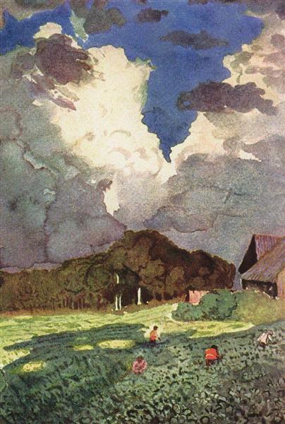A Cloud, 1896 - Konstantin Somov