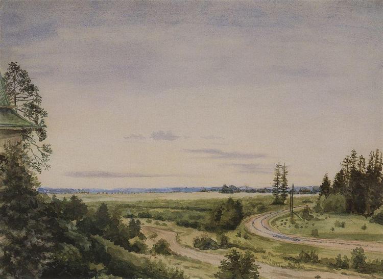 August, 1885 - Konstantin Somov