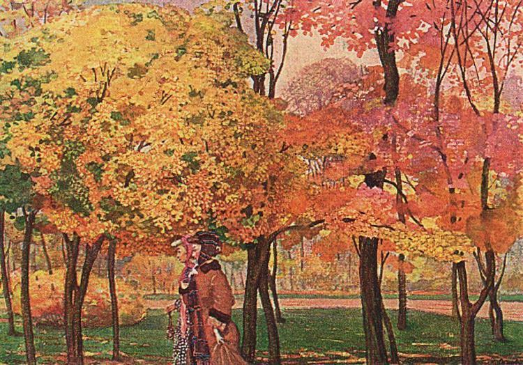 Autumn, 1905 - Konstantin Somov