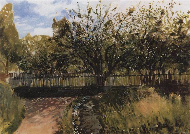 Garden, 1897 - Konstantin Somov