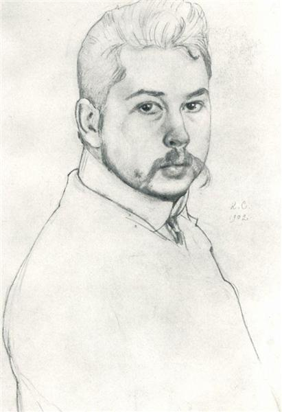 Self-Portrait, 1902 - Konstantin Somov