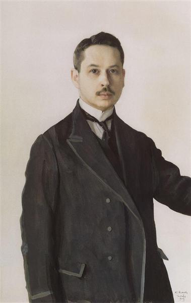 Self-Portrait, 1909 - Konstantin Somov