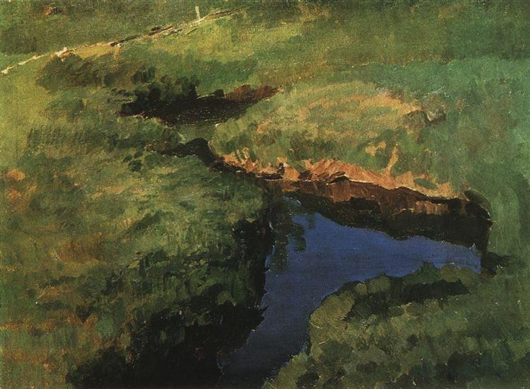 Stream, 1897 - Konstantin Somov