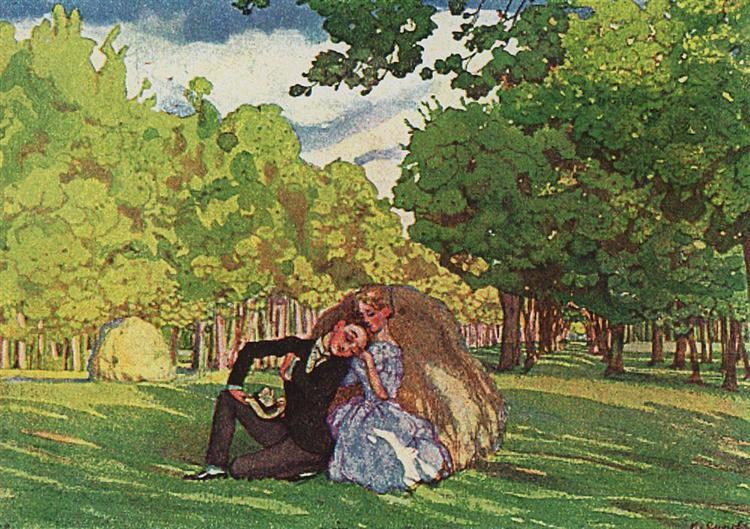 Summer, 1904 - Konstantin Somov