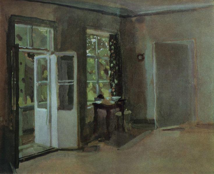 The Interior. Second Part, 1934 - Konstantin Somov