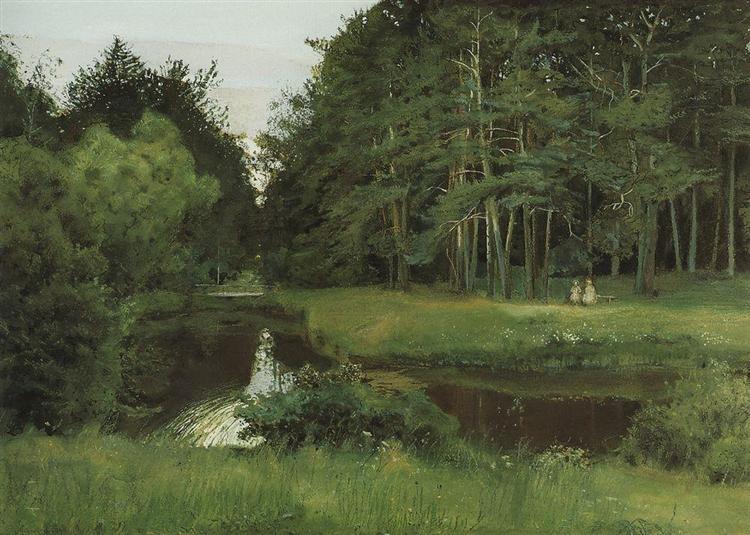 Twilight in the Old Park, 1897 - Konstantin Somov
