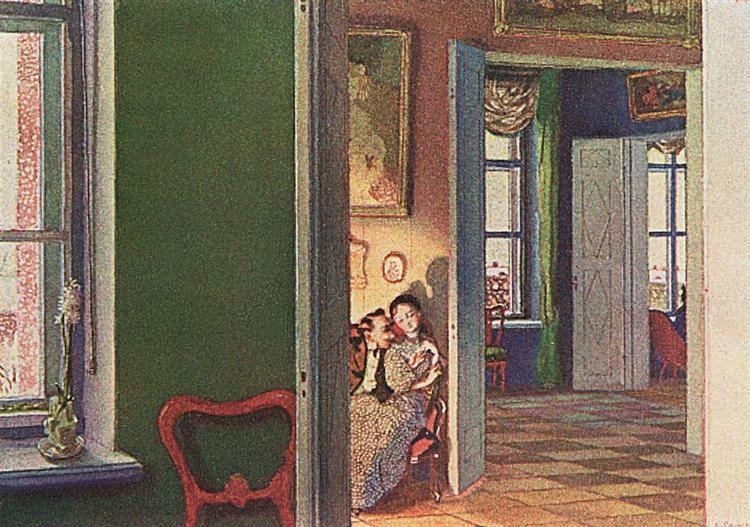 Winter, 1905 - Konstantin Somov