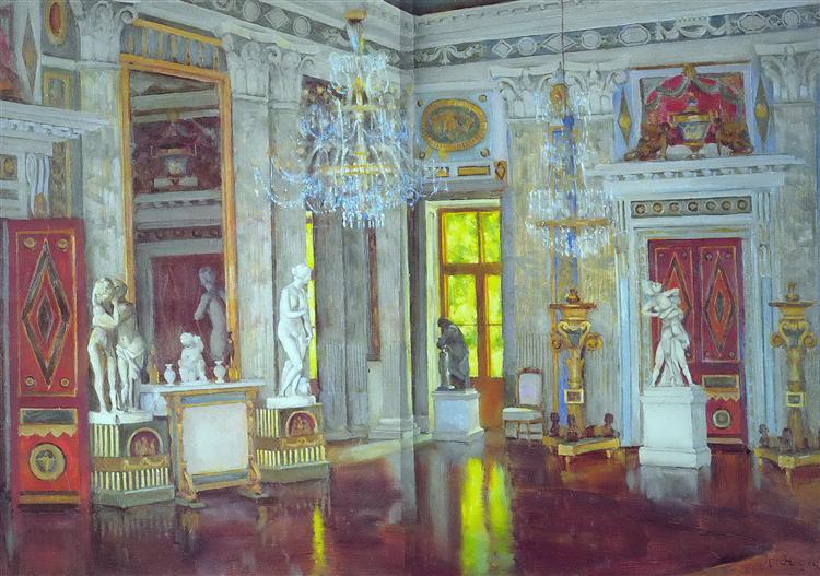Italian Hall Ostankino Palace, 1954 - Konstantin Yuon