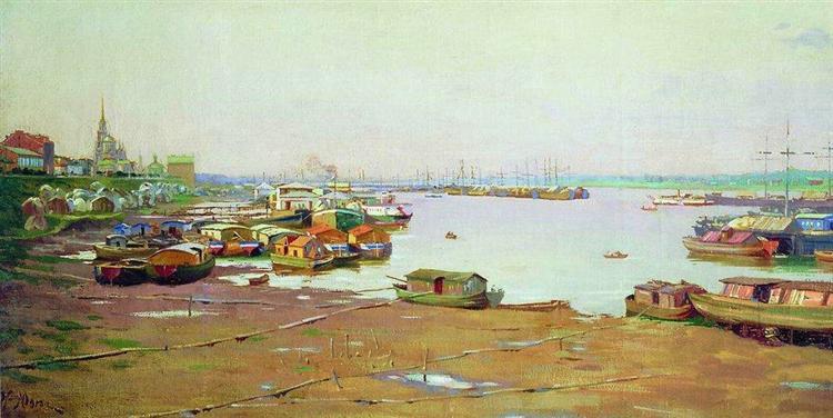 The River Pierce - Константин Юон